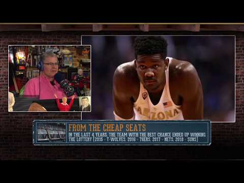DP on NBA Draft Lottery and If Tanking Was Worth It | The Dan Patrick Show | 5/16/18