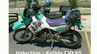8. Kawasaki KLR 650 - Details and Specs