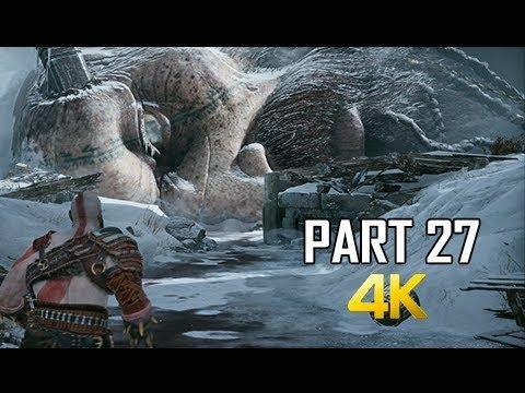 GOD OF WAR Gameplay Walkthrough Part 27 - THAMUR (PS4 PRO 4K Commentary 2018)