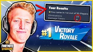 TFUE WINS WITHOUT TAKING ANY DAMAGE + 22 KILLS! - Fortnite Moments #160