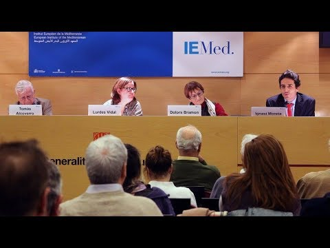 Dolors Bramon, Tomàs Alcoverro i Lurdes Vidal van presentar 'L'islam avui' a Barcelona