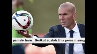 Video 5 Pemain yang Dapat Pindah ke Real Madrid karena Zinedine Zidane MP3, 3GP, MP4, WEBM, AVI, FLV Maret 2019