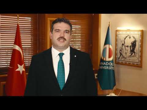 Prof. Dr. Şafak Ertan ÇOMAKLI ( Anadolu Universitesi Rektörü ) idRc_2019 Daveti