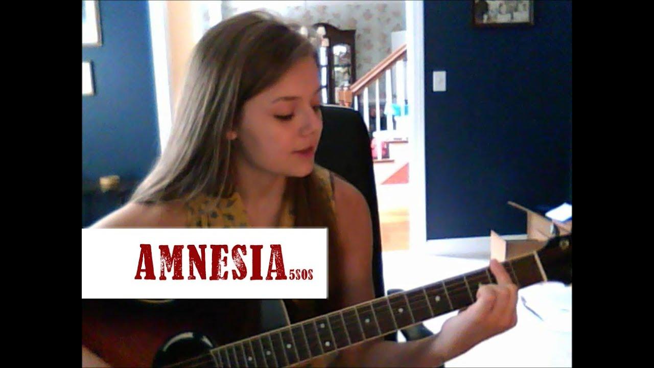 Amnesia- 5SOS Beginning Guitar Tutorial