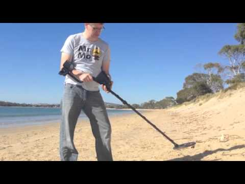 Setting Bounty Hunter Discovery 3300 Ground Balance (Metal Detector)