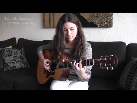 """Elvis Presley  """"Can't Help Falling In Love"""" Cover by Gabriella Quevedo"""