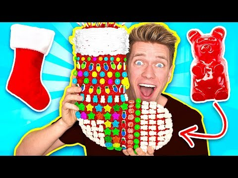 DIY Edible Candy Gifts!!! *FUNNY PRANKS* Learn How To Prank Using Candy & Food Christmas Supplies (видео)