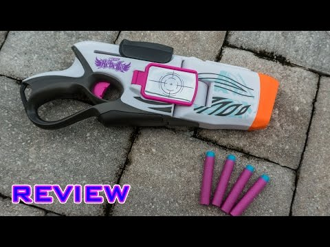 [REVIEW] Nerf Rebelle CornerSight Unboxing, Review, & Firing Test