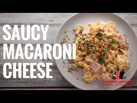 Tefal Saucy Macaroni Cheese | Everyday Gourmet S6 EP49
