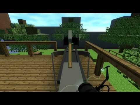 Portal 2 - Minecraft в Portal 2 [Карта]