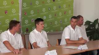 FUTURE TALENTS CUP Press Conference  - 2014.09.08 - (Hungarian)