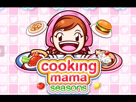 Cooking Mama Seasons Gameplay