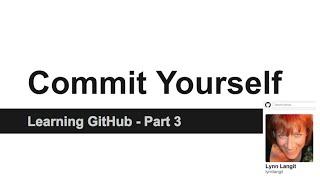 screencast on GitHub - basic push and pull using GitHub for Windows or Codenvy