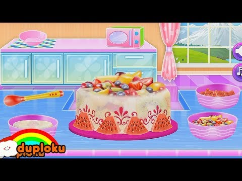 Game Memasak Kue Es Krim Fruity Ice Cream Cake - Game Review Duploku