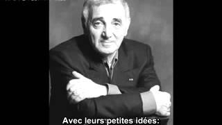 Charles Aznavour   Mourir d'aimer