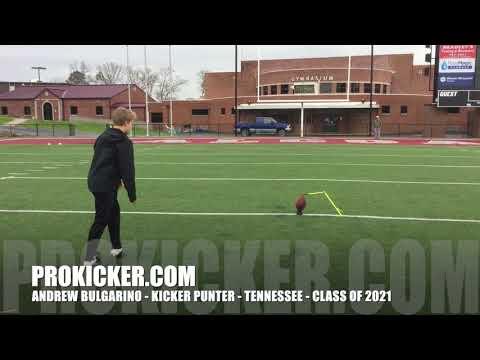 Andrew Bulgarino - Prokicker.com Kicker Punter - Class of 2021