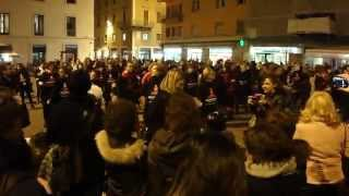 One Billion Rising For Justice  14 febbraio 2014, Piazza Cavour, Rimini   Italy