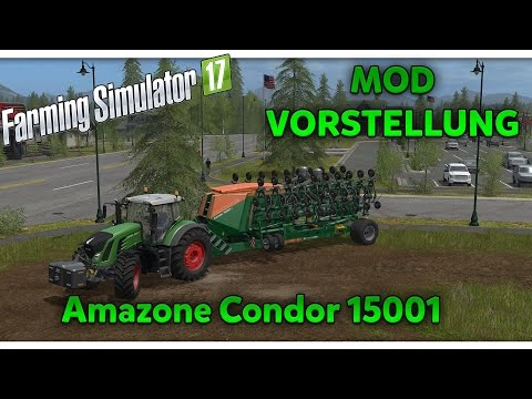Amazone Condor 15001 (Multifruit & Direktsaat) v1.1.0.1