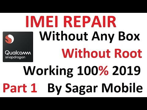 How To Repair IMEI Solution | Part 1 | By Sagar Mobile