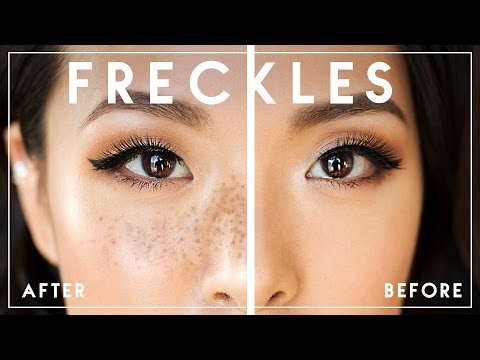How To Draw REALISTIC FAKE FRECKLES    Try The Trend