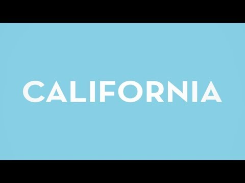 California (Lyric Video)