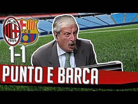 DS 7Gold - (MILAN BARCELLONA 1 1) Punto e Barça