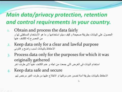 15 Security Concepts  Main data  privacy protection  retention and control requirements in your coun (видео)