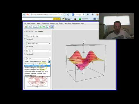 Intro to MAA Calc 3D Plotter Applet