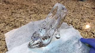Cinderella Swarovski Glass Slipper Crystal Disney Limited Edition Collectible