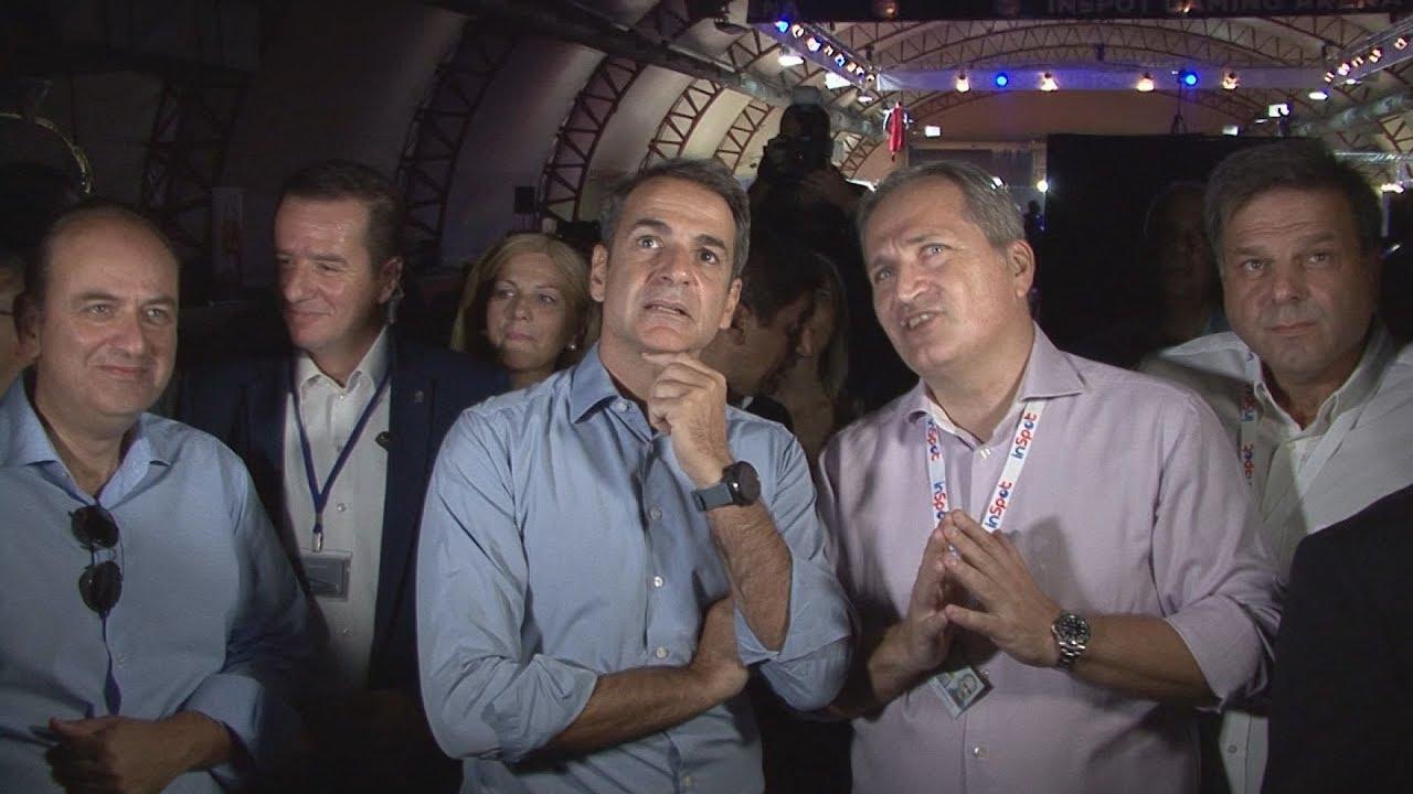 """Στο περίπτερο 17 """"Hall of Games"""" ο Κυριάκος Μητσοτάκης"""