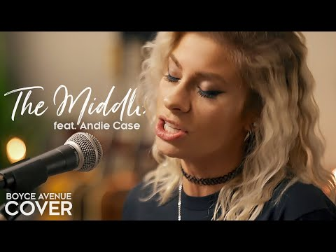 Video The Middle - Zedd, Maren Morris, Grey (Boyce Avenue ft Andie Case acoustic cover) on Spotify & Apple download in MP3, 3GP, MP4, WEBM, AVI, FLV January 2017