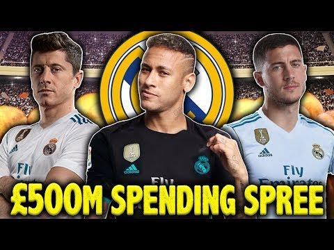 Video: Should Real Madrid Spend €500M On Lewandowski, Neymar & Hazard?! | #SundayVibes