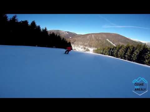 Ski Kouty červená 3