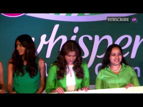 Whisper & Parineeti Chopra Celebrate the end of pe