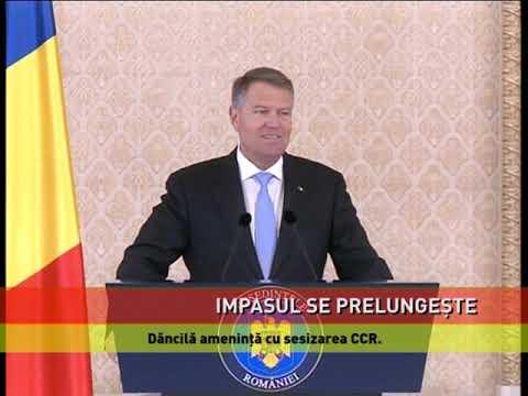 Dăncilă îl amenință pe Iohannis cu sesizarea C.C.R.