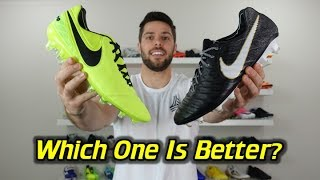 Nike Tiempo Legend 7 Review + Discount Coupon Codeshttp://soccerreviewsforyou.com/2017/07/nike-tiempo-legend-7-review/Nike Tiempo Legend 6 Review + Discount Coupon Codeshttp://soccerreviewsforyou.com/2015/11/nike-tiempo-legend-6-review/SR4U Review Website - http://soccerreviewsforyou.com/SR4U Replacement Laces - http://www.sr4ulaces.com/Daily Deals Email Signup Form ---  http://eepurl.com/Jv3ivFollow me on Facebook http://on.fb.me/RrchwtFollow me on Twitter http://bit.ly/Si812xFollow me on Instagram http://instagram.com/sr4u_josh/Follow me on Tumblr http://bit.ly/VEc3xaSoccer/Football Boot Super Deals http://soccerreviewsforyou.com/super-deals/New Release Soccer/Football Boots http://soccerreviewsforyou.com/new-cleat-releases-2/