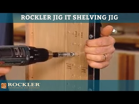 Rockler JIG IT Shelving Jig
