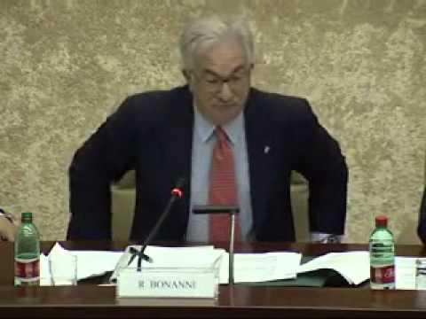 Intervento del Segretario Nazionale della CISL, Raffaele Bonanni