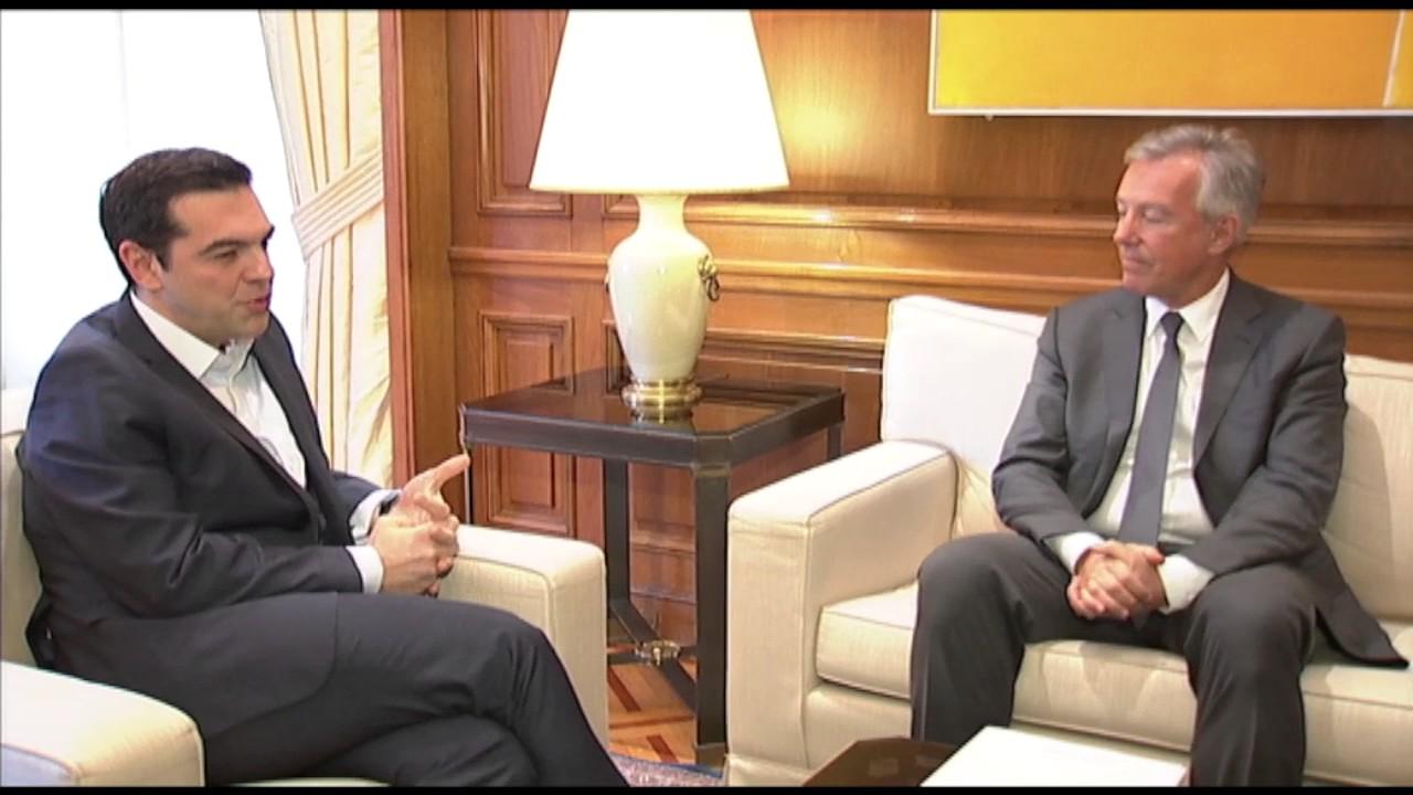Συνάντηση με τον Πρόεδρο του Σ.Ε.Τ.Ε. για τις προοπτικές του Ελληνικού τουρισμού