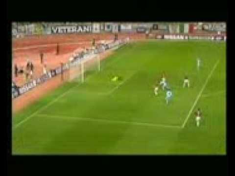 goal di salas contro il manchester united