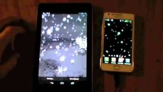 3D Snow Storm Live Wallpaper YouTube video