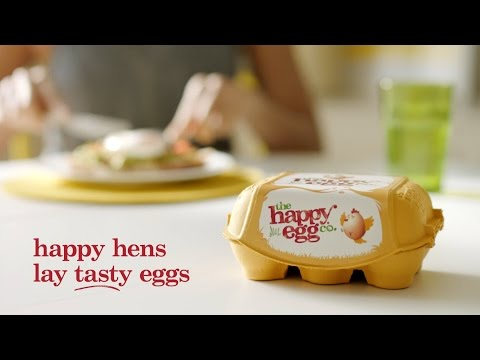 The Happy Egg Company Commercial (2016 - 2017) (Television Commercial)