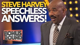 Video 10 FAMILY FEUD US ANSWERS That Left STEVE HARVEY SPEECHLESS! MP3, 3GP, MP4, WEBM, AVI, FLV Desember 2018