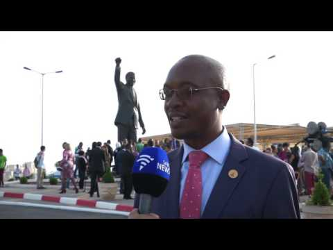 Video: Nelson Mandela's statue unveiled in Palestine