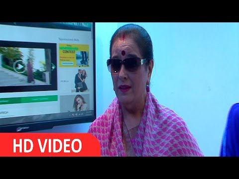 Poonam Sinha | Neerja Fame Actor | At Launch Of | Fashtagz.Com | Websit