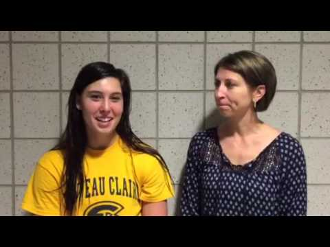 Coach Wudi and senior Jenna Smits recap Carthage Invite