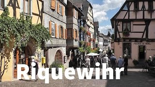 Riquewihr France  city photo : FRANCE: Riquewihr village [HD]