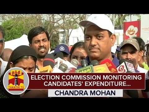 Election-Commission-monitoring-Candidates-Expenditure--Chandra-Mohan-Chennai-Election-Officer