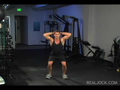 Squats (no weights)