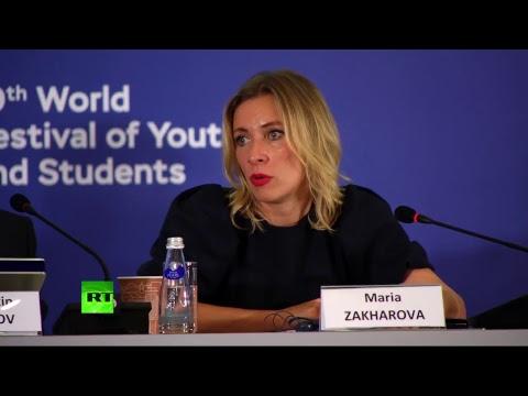 «Фейковые новости как угроза цифровой дипломатии»: Захарова участвует в форуме молодых дипломатов - DomaVideo.Ru